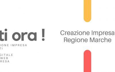Contributi Creazione impresa Regione Marche, bando 2021 nuove attività